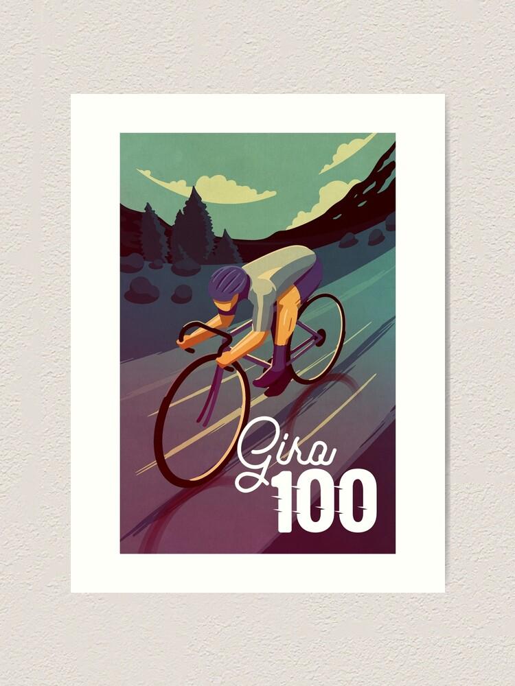 Alternate view of Giro 100 Art Print
