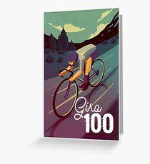 Giro 100 Greeting Card
