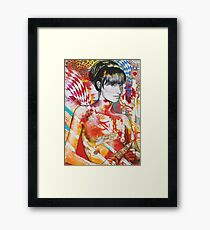 You Did What Last Night? Framed Print