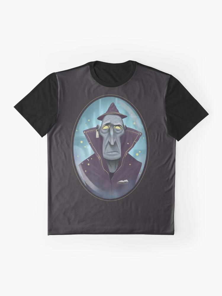 Alternative Ansicht von Hipster-Assistent Grafik T-Shirt