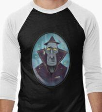 Hipster Wizard Men's Baseball ¾ T-Shirt