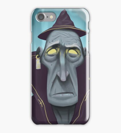 Hipster Wizard iPhone Case/Skin