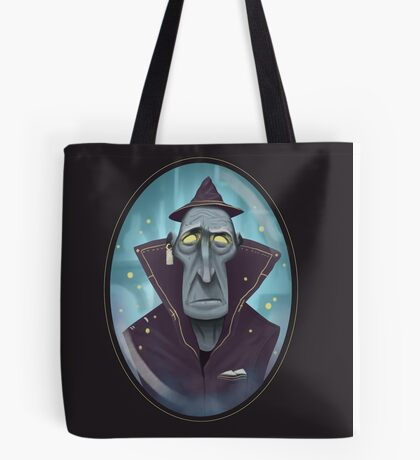 Hipster Wizard Tote Bag