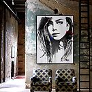 a room for her again by Loui  Jover