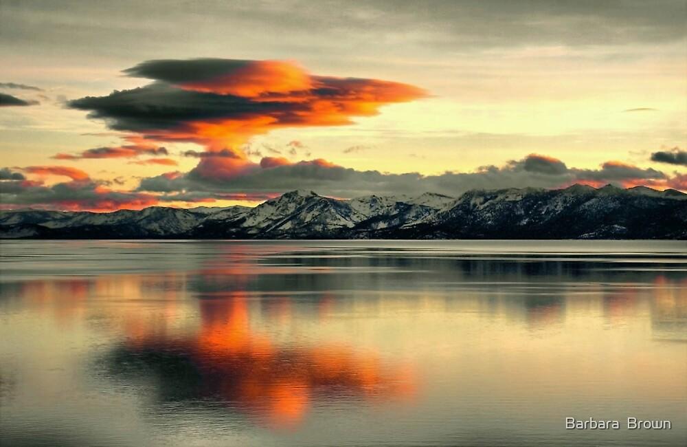 Atmospheric Explosion by Barbara  Brown