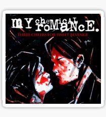 ROMANCE SWEET REVENGE CHEMICAL MY SEGAR Sticker