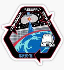 NASA / SpaceX Services de réapprovisionnement commercial CRS-11 (SpX-11) Mission Patch Sticker