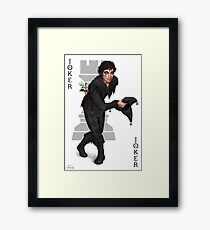 Jest the Joker Framed Print