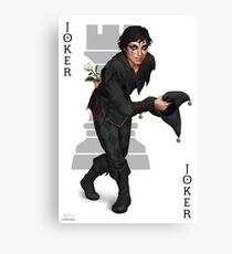Jest the Joker Canvas Print