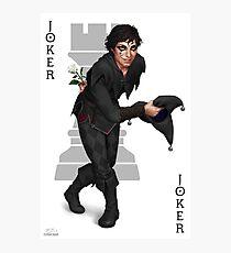 Jest the Joker Photographic Print