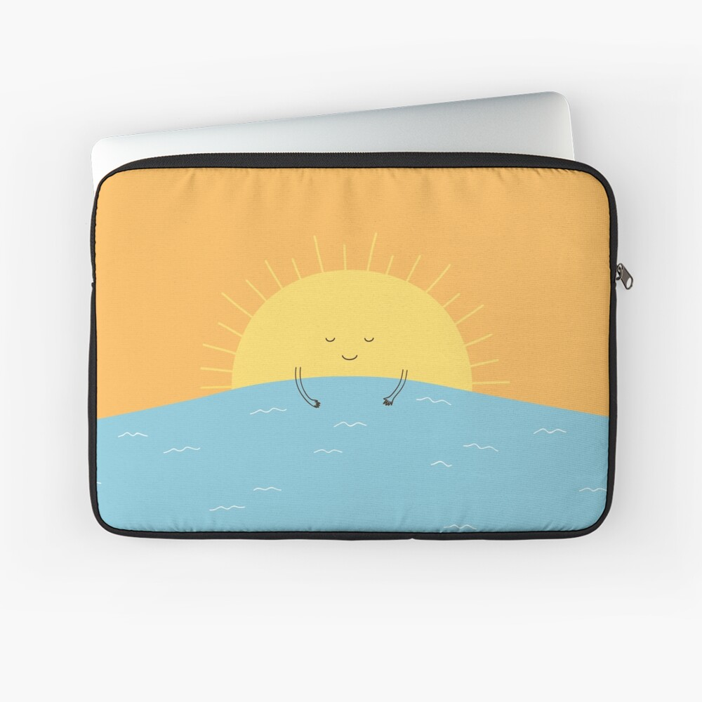 good morning sunshine! Laptop Sleeve