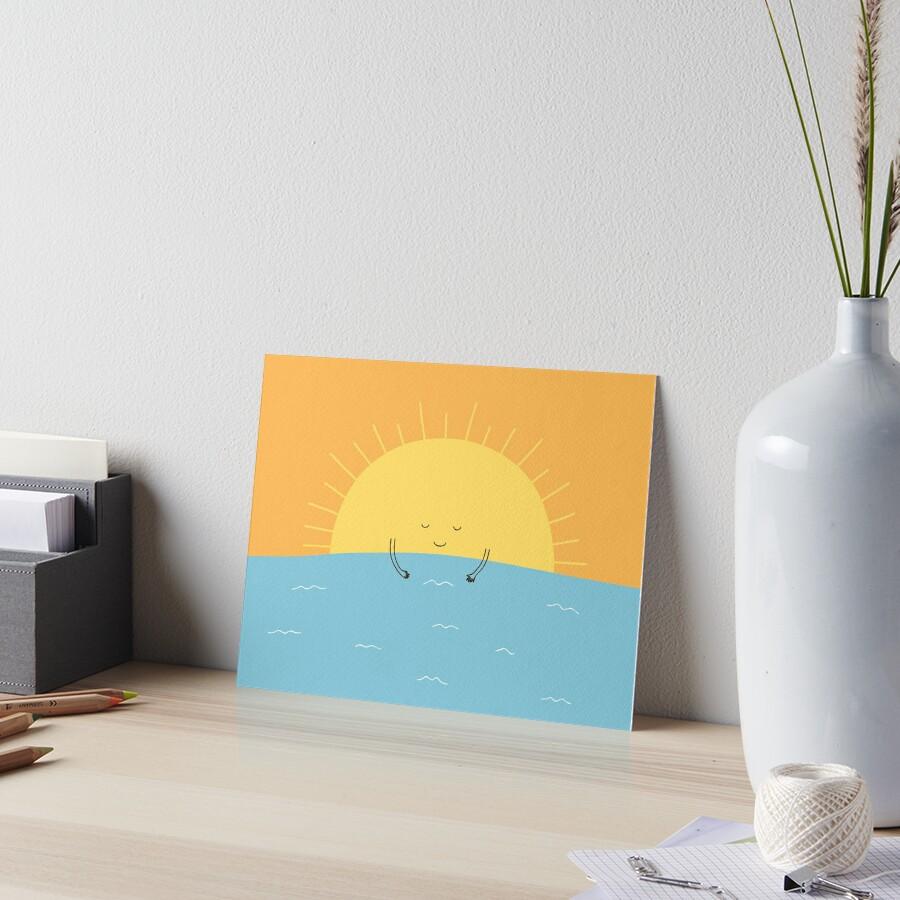good morning sunshine! Art Board Print