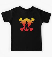 Straw Hat Silhouette Luffy Kids Clothes