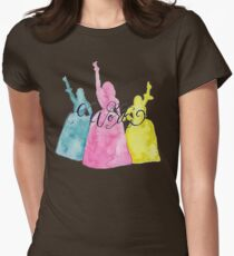 the schuyler sisters Women's Fitted T-Shirt