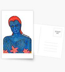 Mystique  Postcards