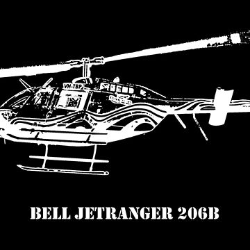 Bell JetRanger 206B by PrecisionHeli