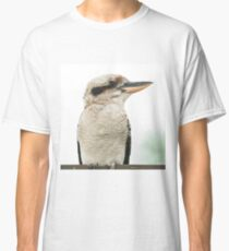Kookaburra gracefully resting during the day. Classic T-Shirt