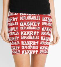 PROUD MEMBER OF THE BASKET OF DEPLORABLES Mini Skirt
