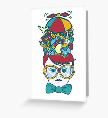 Brainy Greeting Card