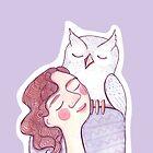 Owl Girl by Julia Gingras