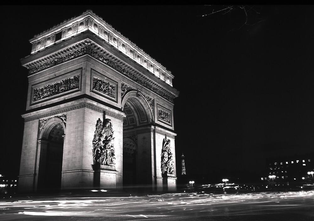 Paris at Night by kitlew