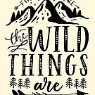 Find Me Where The Wild Things Are {Black Version} by TheLoveShop