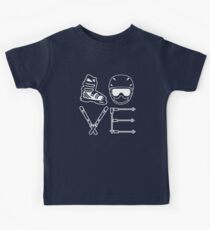 Skiing Love Kids Clothes