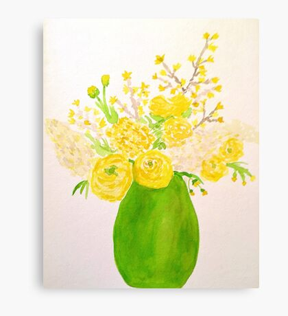 Lemon Lime Canvas Print