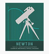 Science Posters - Sir Isaac Newton - Physicist, Mathematician, Astronomer Photographic Print
