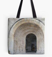 Abbey doorway Tote Bag