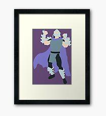 Shredder Blocky Framed Print