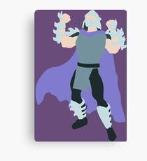 Shredder Blocky Canvas Print