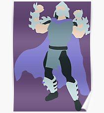 Shredder Blocky Poster