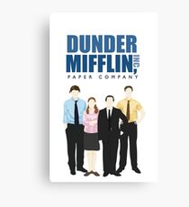 Lienzo Dunder Mifflin Paper Company - La oficina