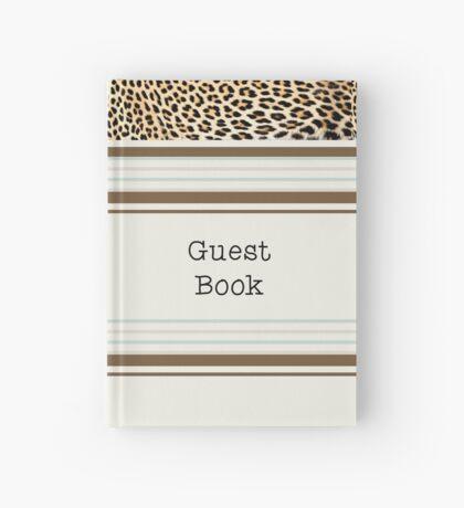 Lodge décor - Leopard fantasy Hardcover Journal