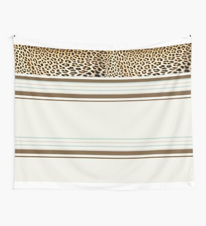 Lodge décor - Leopard fantasy Wall Tapestry