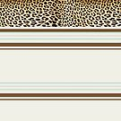 Lodge décor - Leopard fantasy by Maree Clarkson