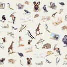 Lodge décor - Wildlife festival by Maree Clarkson
