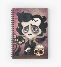 Edgar Poet Spiral Notebook
