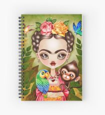Frida Querida Spiral Notebook