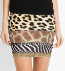 Lodge décor - Expect your soul to be touched forever Mini Skirt