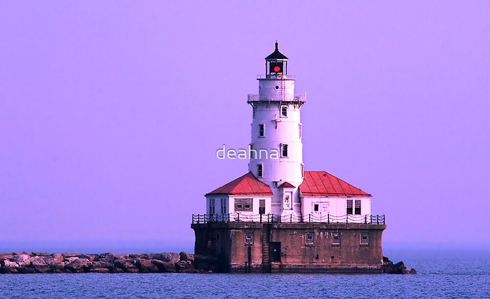 A lighthouse by deahna
