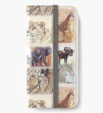 Lodge décor - South Africa's wildlife wonders iPhone Wallet/Case/Skin