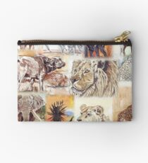 Lodge décor - South Africa's wildlife wonders Studio Pouch