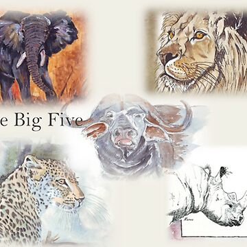Lodge décor - The Big Five by MareeClarkson
