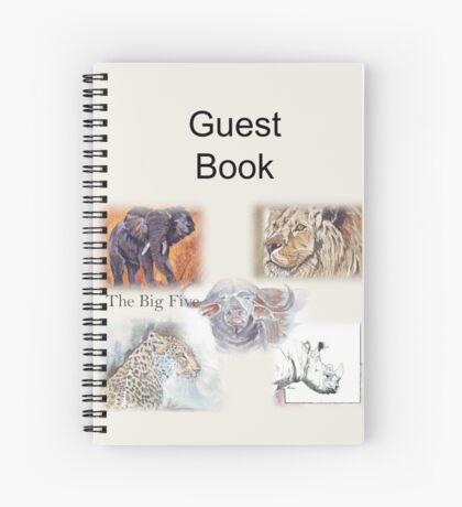 Lodge décor - The Big Five Spiral Notebook