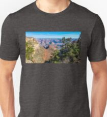 Panorama at Bright Angel Trail in Grand Canyon National Park Unisex T-Shirt