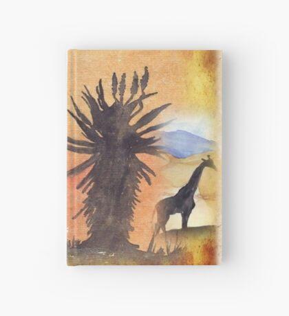 Lodge décor – African Bushveld scene Hardcover Journal