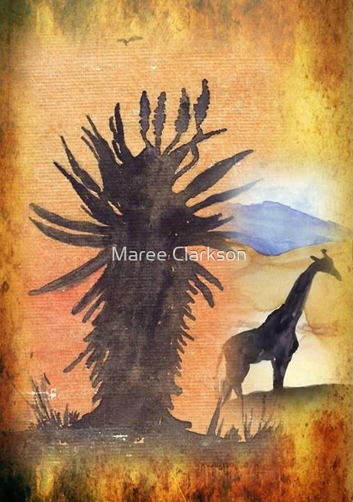 Lodge décor – African Bushveld scene by Maree Clarkson