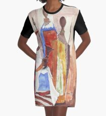 Lodge décor - The Indaba  Graphic T-Shirt Dress